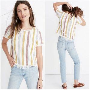 MADEWELL | Blakely Stripe Sweater Tee